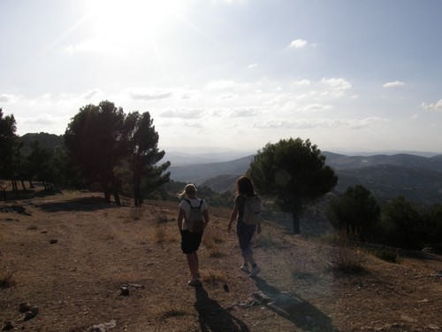 hiking in the region of Fez