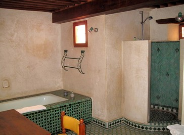 bathroom of the suite Amira