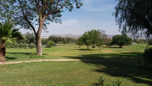 playing golf in the region of Fez