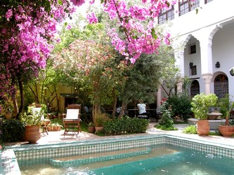 ryad Mabrouka Fez a riad with pool and view on the medina